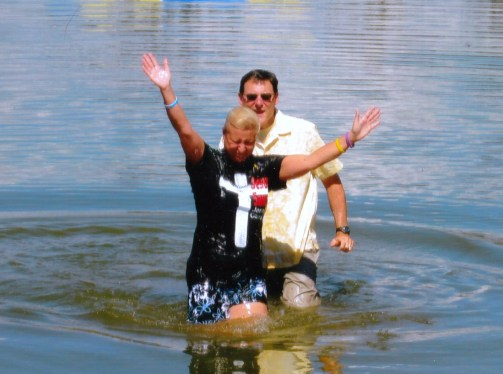 Janine baptism 2