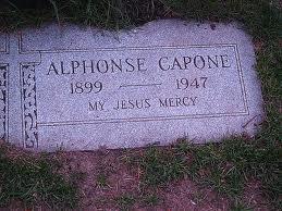Al Capone headstone